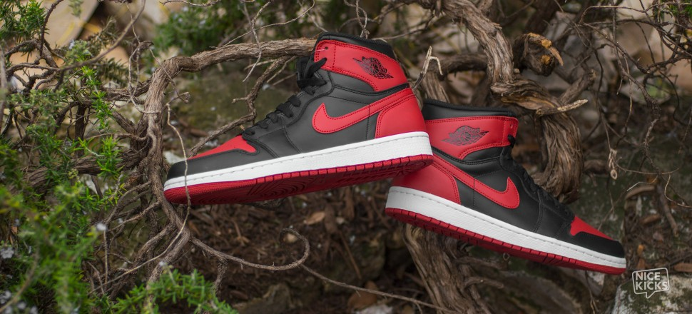 Air Jordan 1 Black / Red