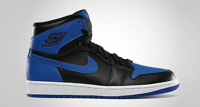 Air Jordan 1 Black Varsity Royal