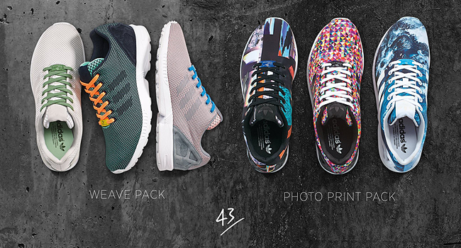 adidas ZX Flux Weave und Photo Print Pack