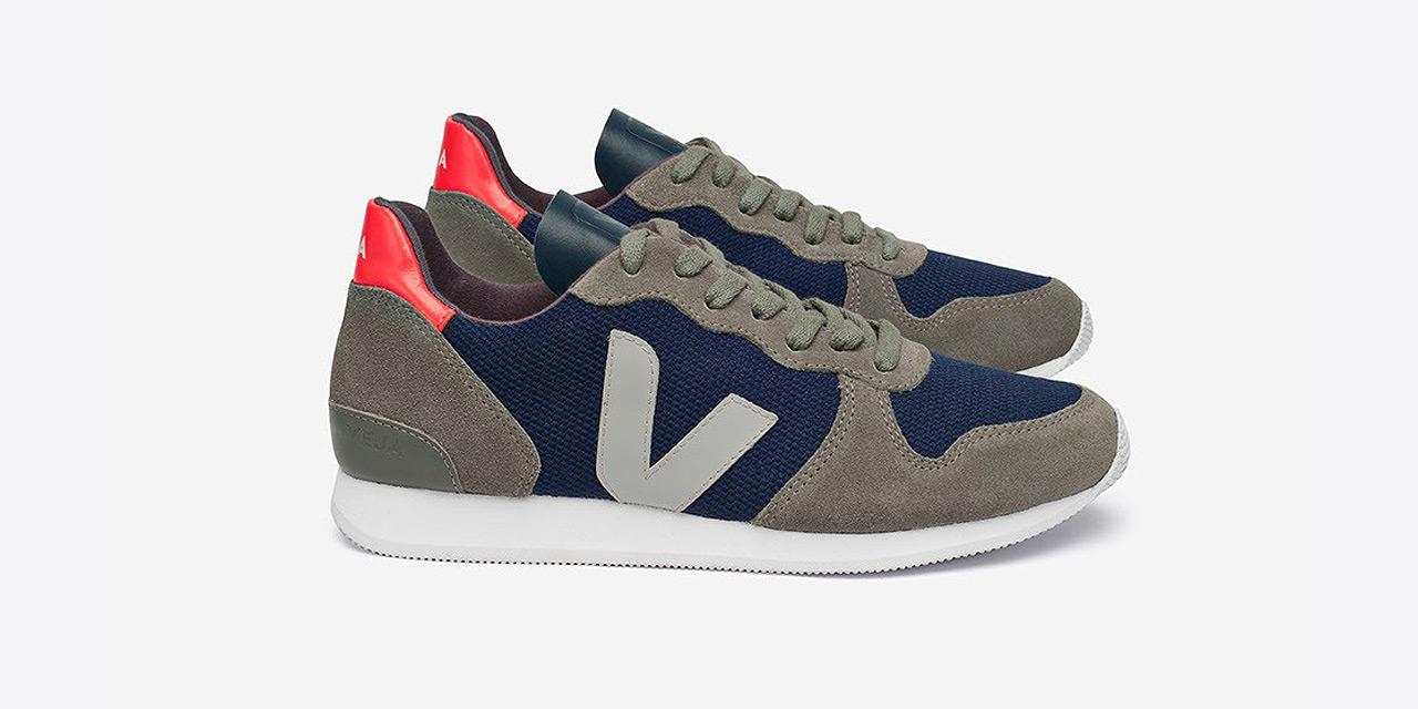 Veja Holiday Low Top Suede B-Mesh Nautico Grey Oxford Grey