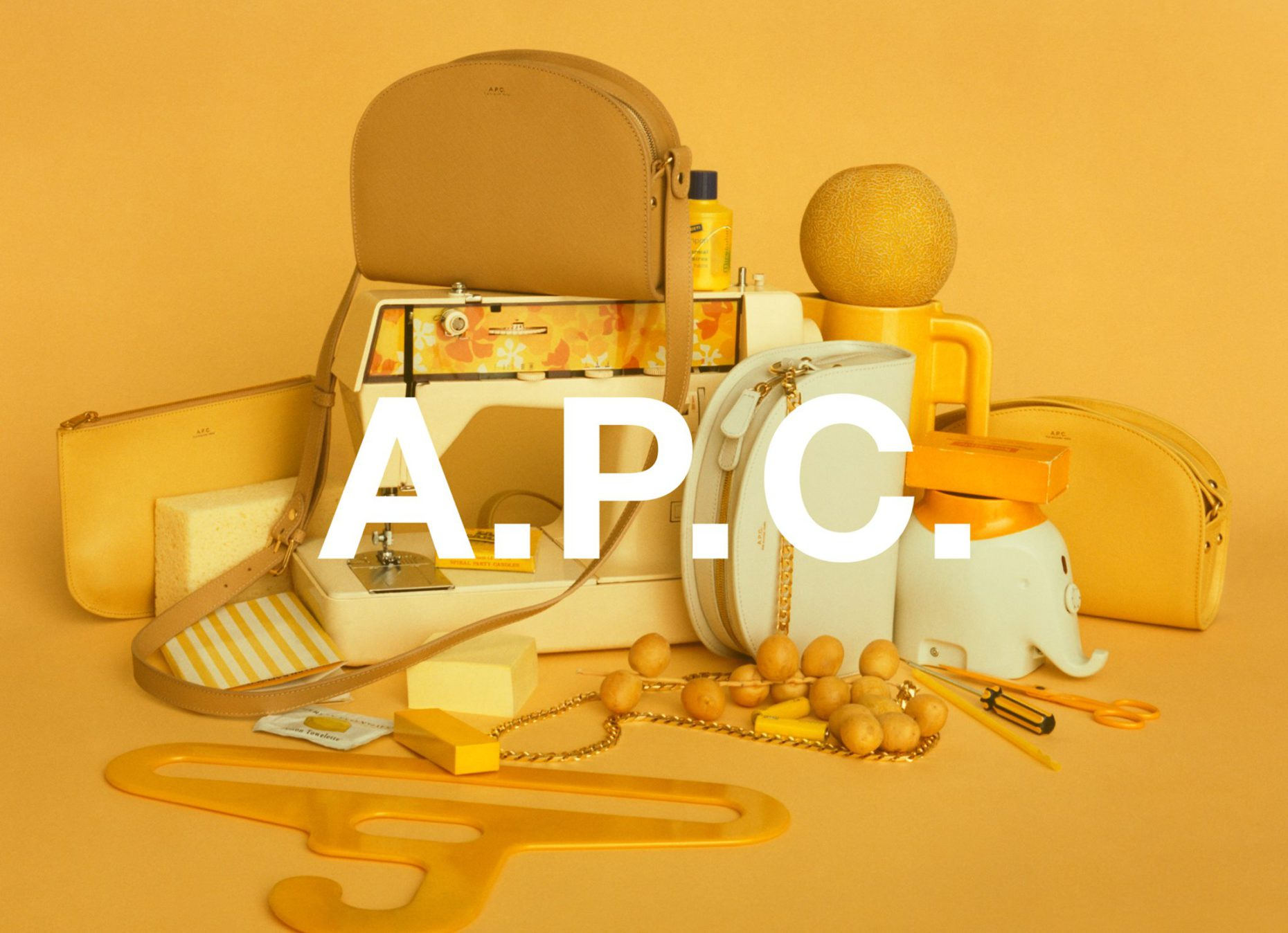 A.P.C. spring-summer 2018 accessories campaign