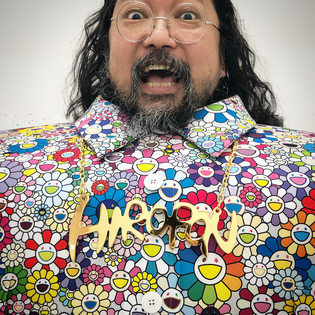 "Takashi Murakami ""I Love It"" Halloween Costume"