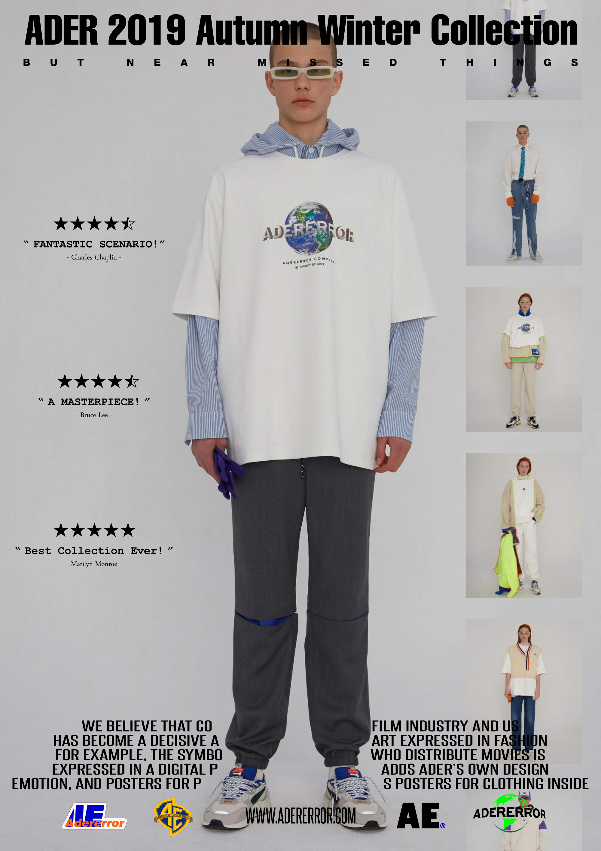 ADER error Autumn / Winter 2019