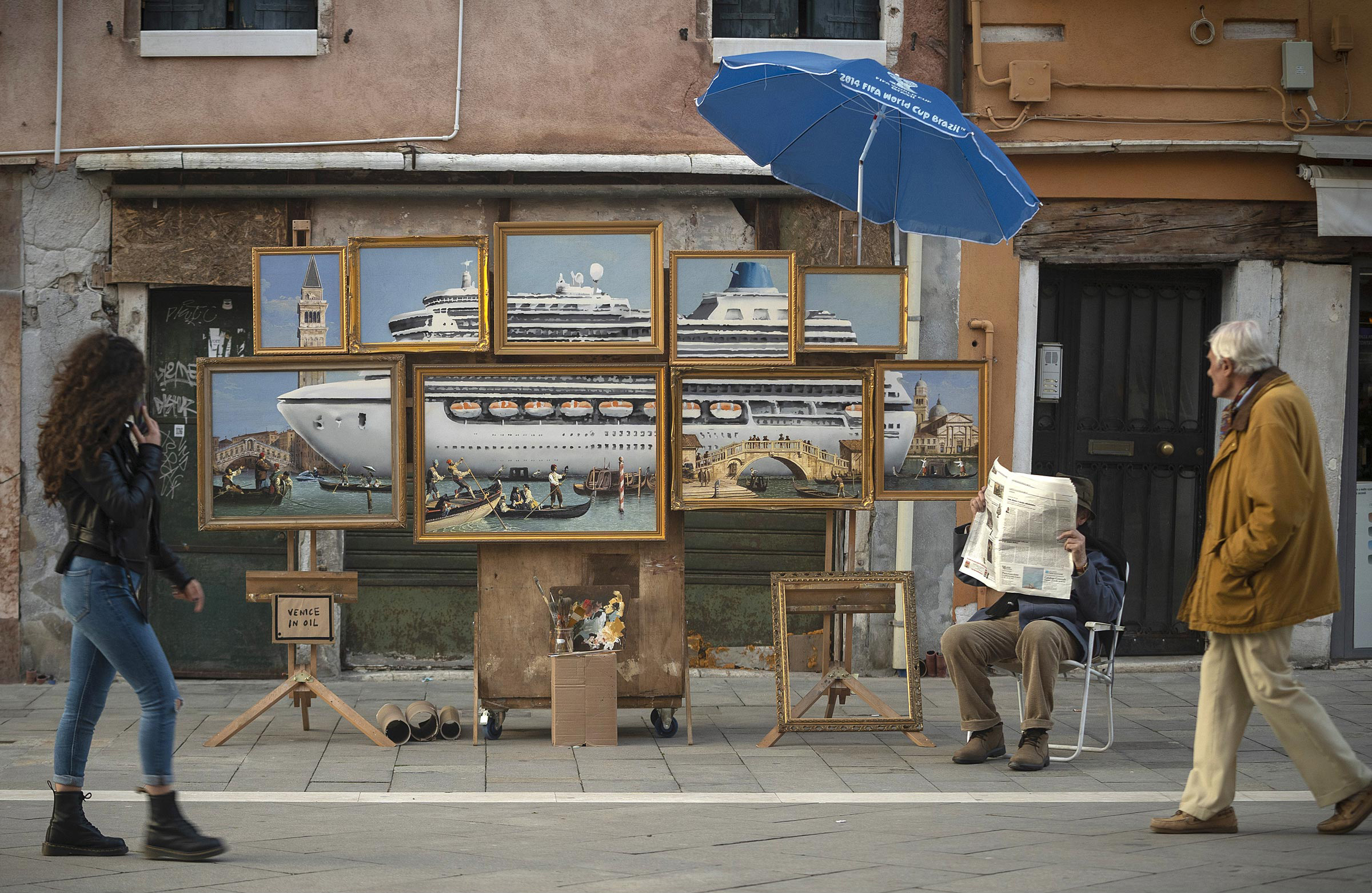 Venice in Oil - Quelle: banksy.co.uk