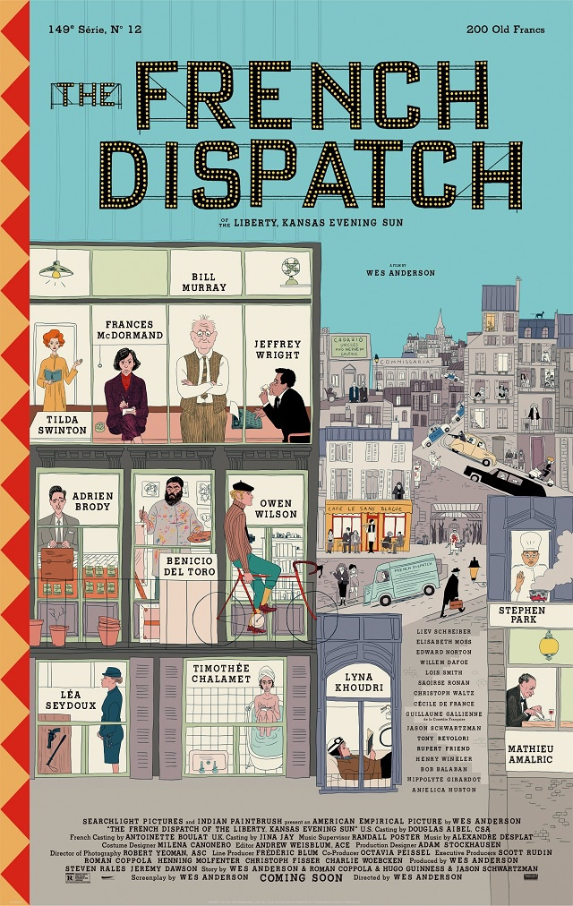 "Wes Anderson ""The French Dispatch"""